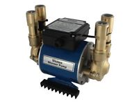 Brand new Wickes 3 bar twin impeller brass pump - boxed