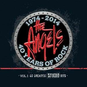 THE ANGELS (40 YEARS OF ROCK - GREATEST HITS 3 CD SET SEALED + FREE POST)