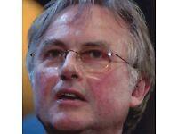 Oxford Literary Festival - Richard Dawkins Interviewed by Nick Higham 4x Tickets Sheldonian theatre