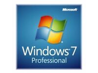 Windows 7 Professional Product Key & Installation Disc