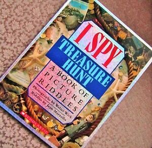* I SPY * TREASURE HUNT * A Book of Picture Riddles