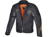 AKITO EDGE EVO MOTORCYCLE MOTORBIKE SCOOTER TEXTILE SPORTS RACING WATERPROOF JACKET. VARIOUS SIZES