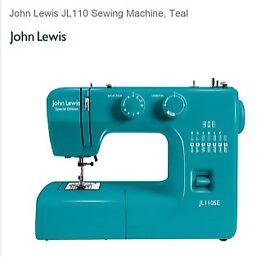 John Lewis Special Edition JL110SE Teal Sewing Machine