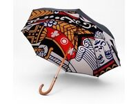 LOST UMBRELLA - LONDON UNDERCOVER (King Of Clubs card print)
