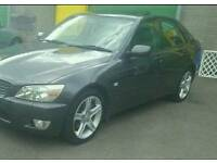 2001 Lexus IS200 2.0 SE Auto 4 Door Grey 1 Owner Hpi Clear In Daily Use Smooth Engine Bargain