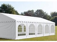 Professional Marquee, 10mtr x 5mtr, All Weather, 500g/m2 PVC, [not 180g/m2 PE]