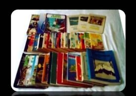 JOB LOT - SELECTION OF VINTAGE BOOKS/ MAGAZINES - 41 ITEMS - FOR SALE