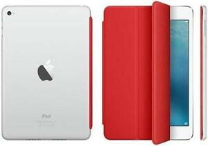 Red Apple iPad Mini Cover & Clear Rear iPad Mini Cover   Protec