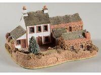 Lilliput Lane - Yew Tree Farm - Very Rare Model of David Tate's original home