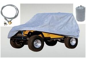 Housse Deluxe Car Cover Wrangler TJ 97-06 Grise