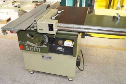 S112 SCM table saw and completed dust collecter