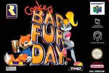 Conkers bad fur day nintendo 64 Kings Park Blacktown Area Preview