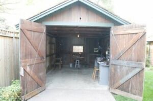 DEMOLITION REMOVAL DISPOSAL: FENCE SHED GARAGE PLAYSCAPE TREES