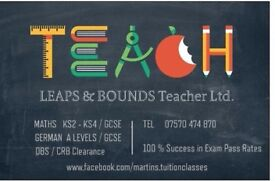 Private Tuition Maths & German - 100% successful exams! (Tutor)
