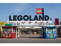 4 x Legoland tickets for sale valid until the end of 2016 season adult or child