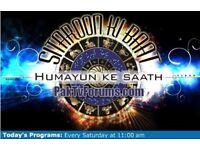 HUMAYUN MEHBOOB -ARY DIGITAL TV CHANNEL Live Program on sunday & saturday. HUMAYUN