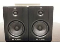 M-audio bx5 monitors