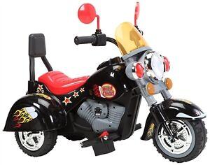 Child Ride On Three Wheel Motorcycle w Music, Light, MP3 Input
