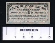 Washington Tax Token