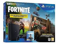 New Sealed PlayStation 4 fortnite bundle