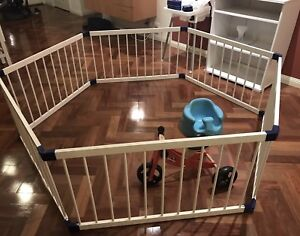 Nanny Annie 3 in 1 jumbo Wooden playpen Castle Hill The Hills District Preview