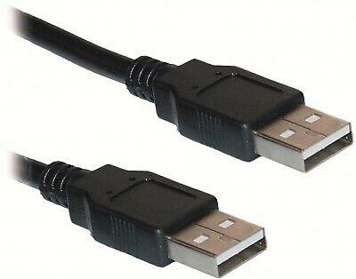 Microconnect Câbles USB M/M 5 m  A / A  Male Connector/Male Connector Noir