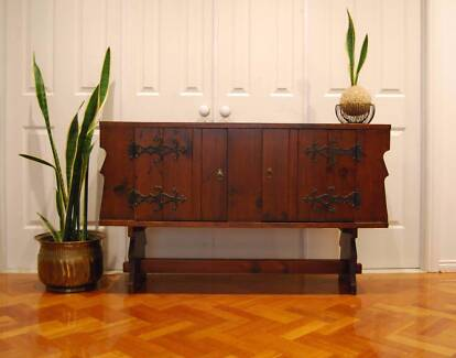 MORDEN/ RUSTIC  BUFFET/ SIDEBOARD/ HALL TABLE/ SIDE TABLE/TV STAN