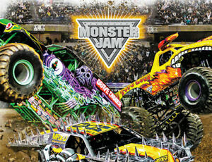 I want 2 Monster Jam tickets!