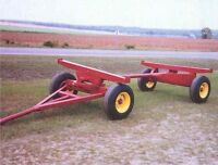 Farm Wagon Trailer Running Gear Frame
