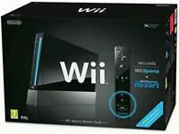 Wii sports resort console.