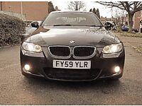 BMW 3 Series 2.0 320d M Sport Black coupe