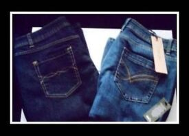 LADIES JEANS - 2 PAIRS - SIZE 14 - FOR SALE