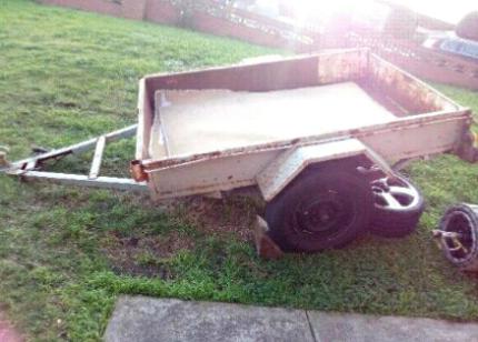 6x4 heavy duty trailer