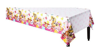 Disney Princess PALACE PETS plastic TABLECLOTH birthday party 1 table cover - Palace Pets Birthday Party