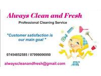 Always clean and fresh - housekeeping, cleaners
