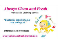 Always clean and fresh - housekeeping, cleaners