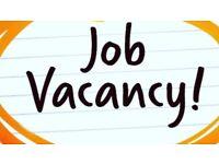 Job vacancy in sandwich shop