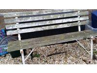 Garden Bench needs some loving care