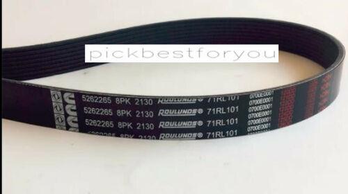 1PC New 5265265 / 8PK2130 Cummins Fan Belt #M46C QL