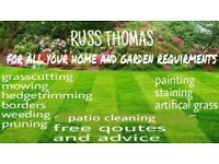 For all your garden requirments.