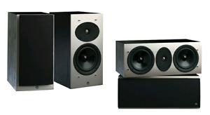 Athena Technologies home theatre speakers