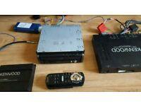 Kenwood flip car dvd GPS tv system