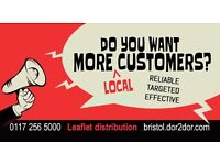 Leaflet Distribution in Bristol BS6 / 7 / 8 & 9 - Reaching local customers for your business