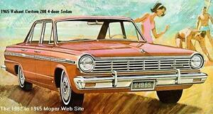 Looking for a 1965 Dodge Valiant