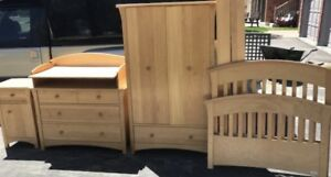 Maple Twin Bedroom Set