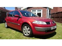 2005 RENAULT MEGANE D-MIQUE 1.9 DCI 130 BHP E4 6 SPEED FULL SERVICE HISTORY MINT DRIVE / XENONS
