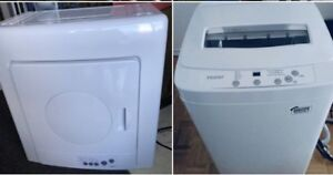 MINT Haier apt-size Washer / Dryer (Brand New) set ...canDeliver