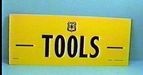 Old Forest Service  Sign TOOLS