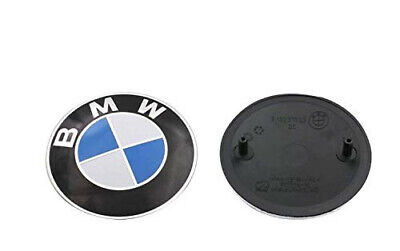 BMW Emblem Replacement for Hood 82mm (3 inch) for ALL Models BMW E30 E36 E46 E39