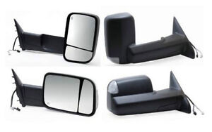 NEW POWER HEATED WITH SIGNAL TOWING MIRROR 2009-2012 DODGE TRUCK